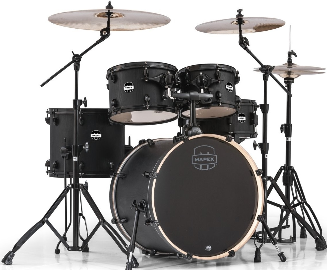 Fotografie Mapex Mars rock set Night Wood