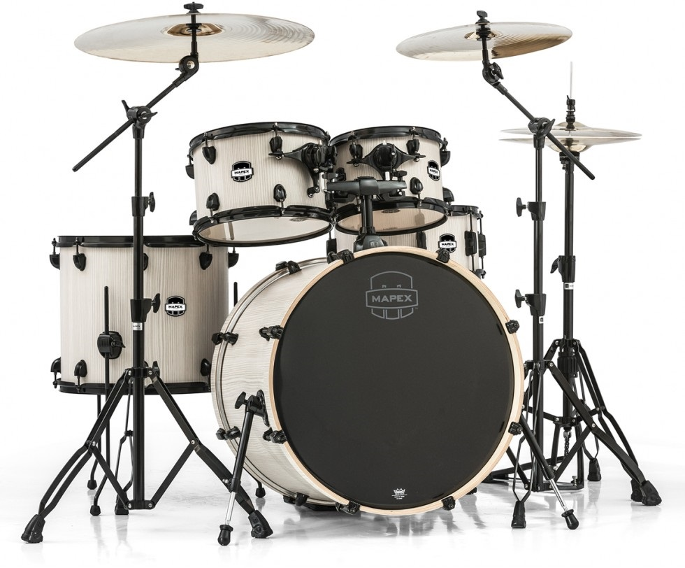 Fotografie Mapex Mars rock set Bone Wood