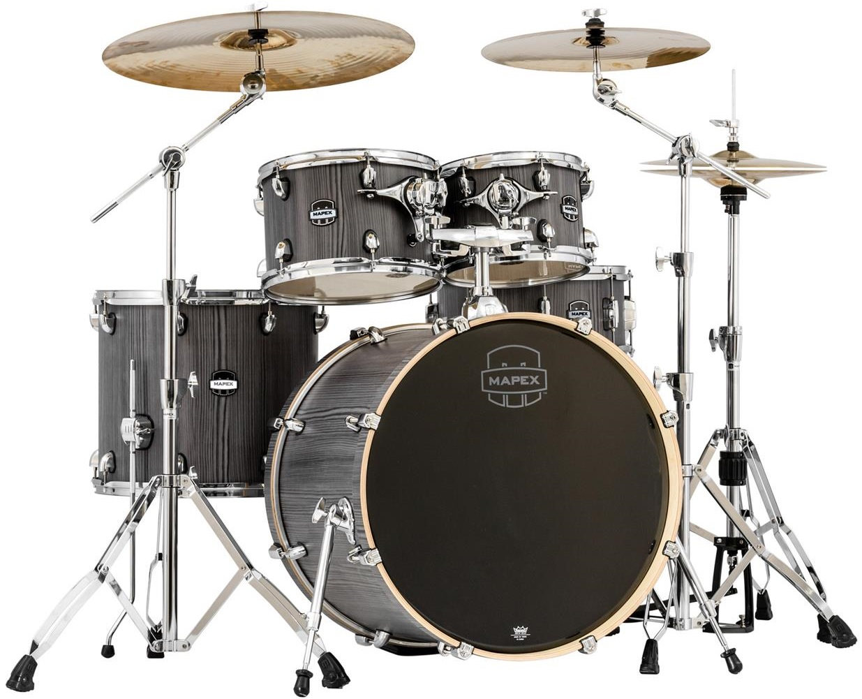 Fotografie Mapex Mars studio set Smoke Wood