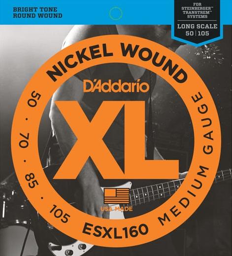 D'Addario ESXL160 double ball