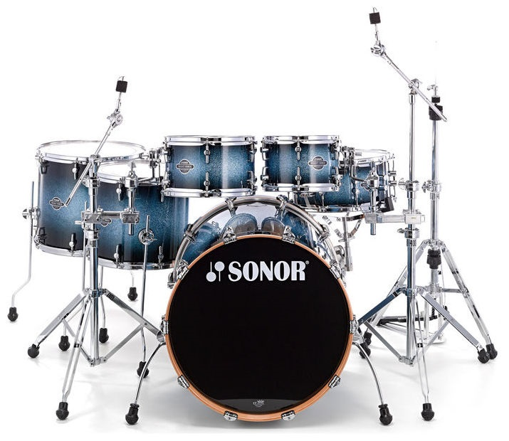 Sonor Select force S DRIVE set Blue Galaxy Sparkle