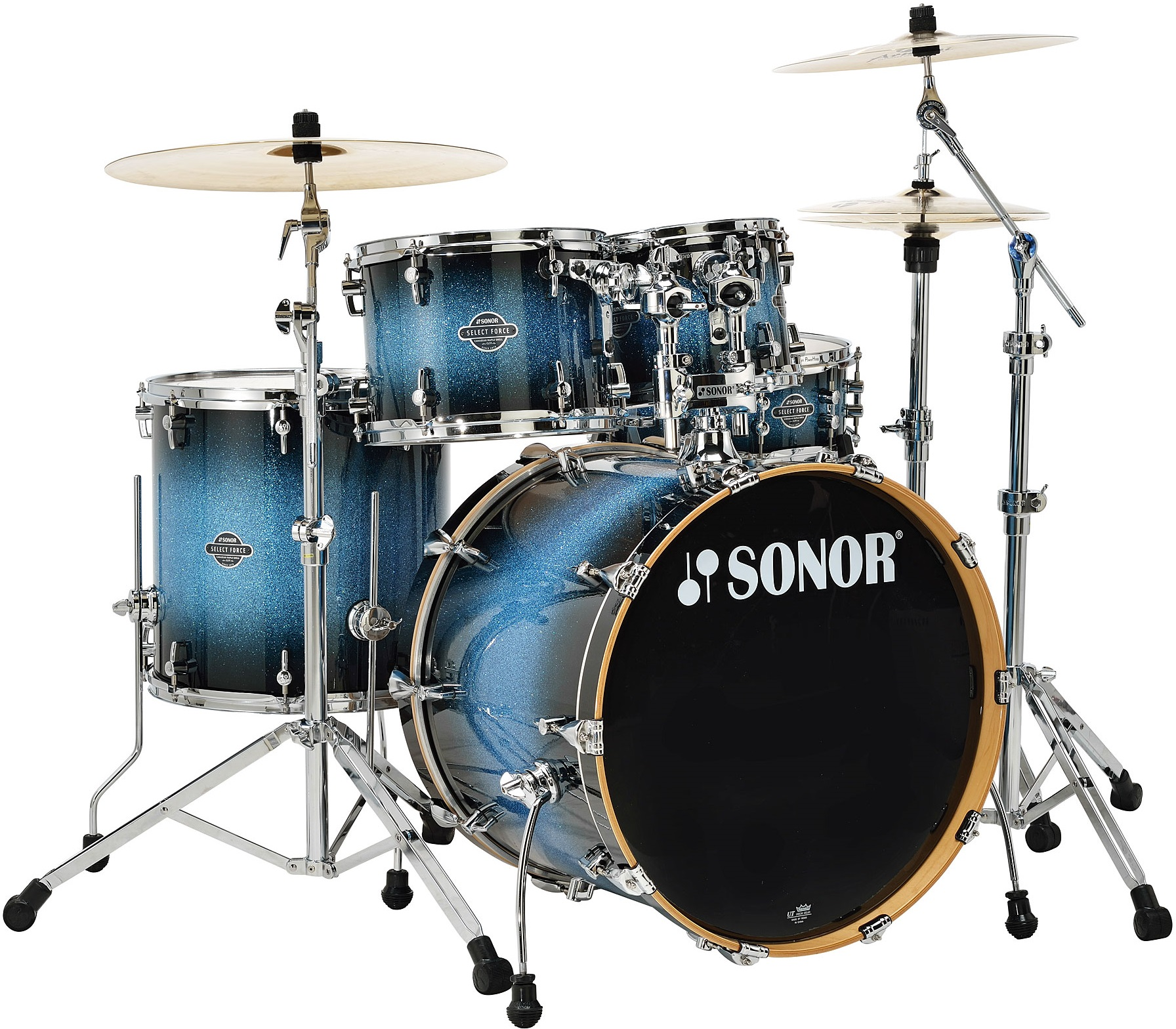 Sonor Select force Fusion set Blue Galaxy Sparkle