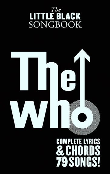 MS The Little Black Songbook: The Who