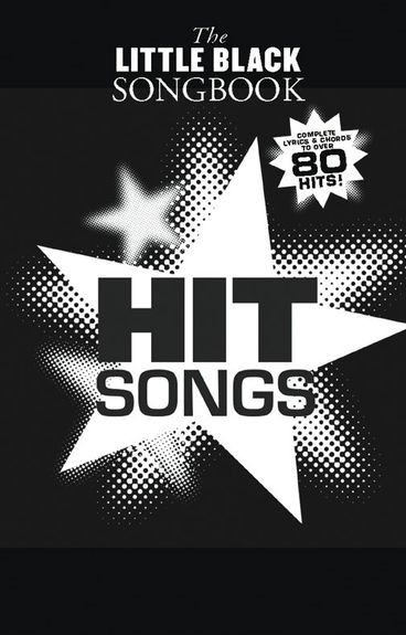 MS The Little Black Songbook: Hit Songs