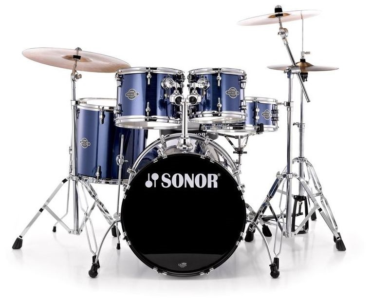 Sonor Force Smart Fusion Set Brushed blue