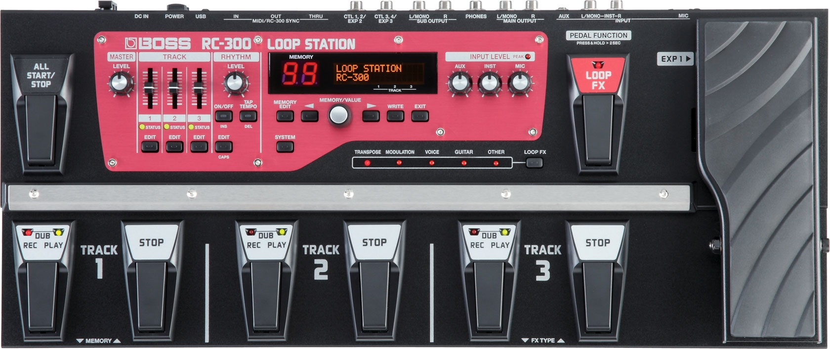 Boss RC 300 Loop Station