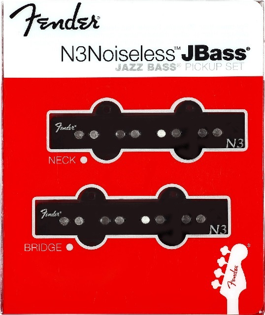 Fender N3 Noiseless Jazz Bass Set