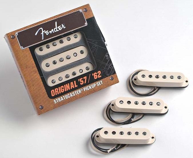 Fender Vintage 57/62 Stratocaster Pickups Set