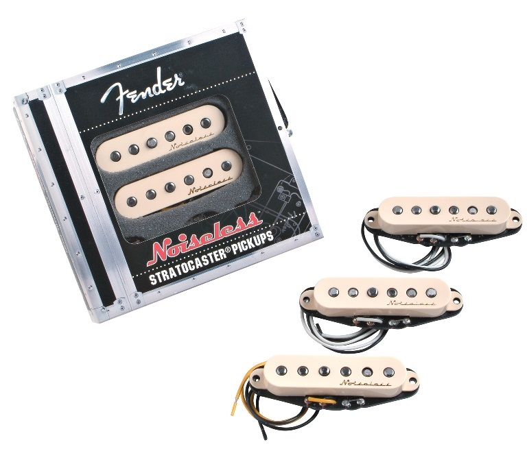 Fender Vintage Noiseless Stratocaster Pickups Set AW