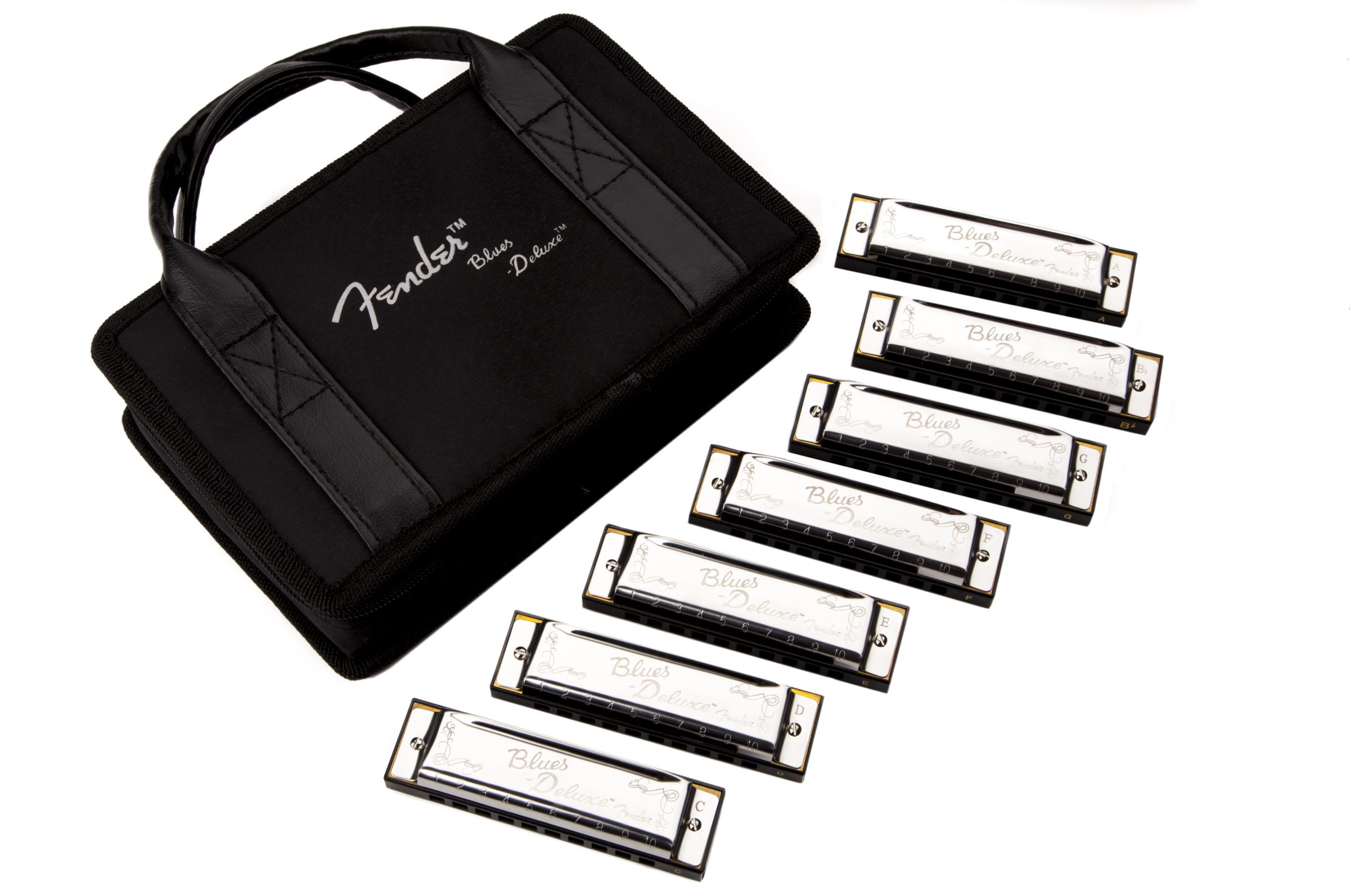 Fender BLUES DELUXE 7 PACK W/CASE