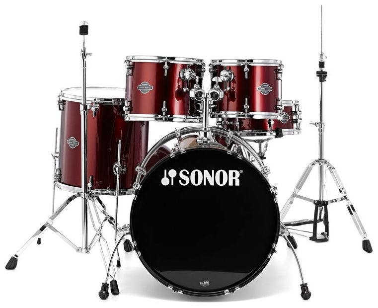 Fotografie Sonor Force Smart Studio Set Wine red