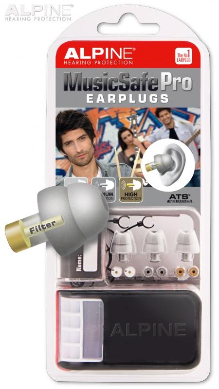 Alpine Music Safe Pro Silver