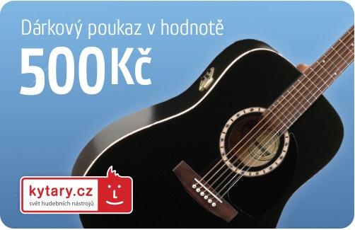 Kytary.cz Dárkový šek 500 Kč
