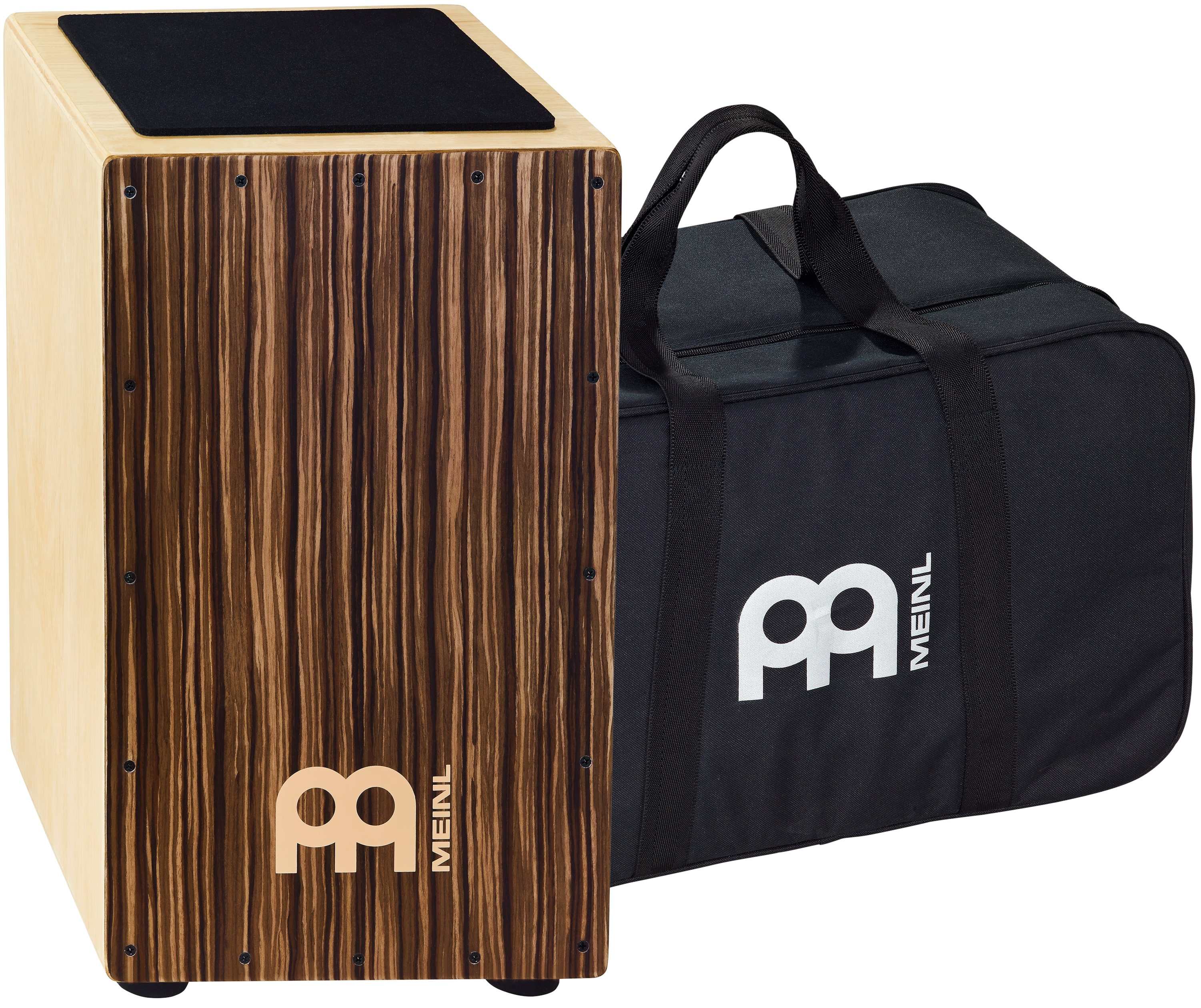 Meinl CAJ3SU-M+BAG Traditional strings cajon