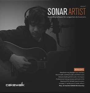 Cakewalk SONAR ARTIST download