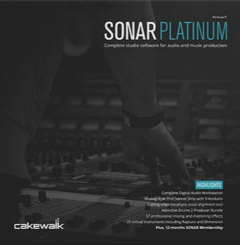 Cakewalk SONAR PLATINUM Academic Edition