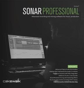Cakewalk SONAR PROFESSIONAL