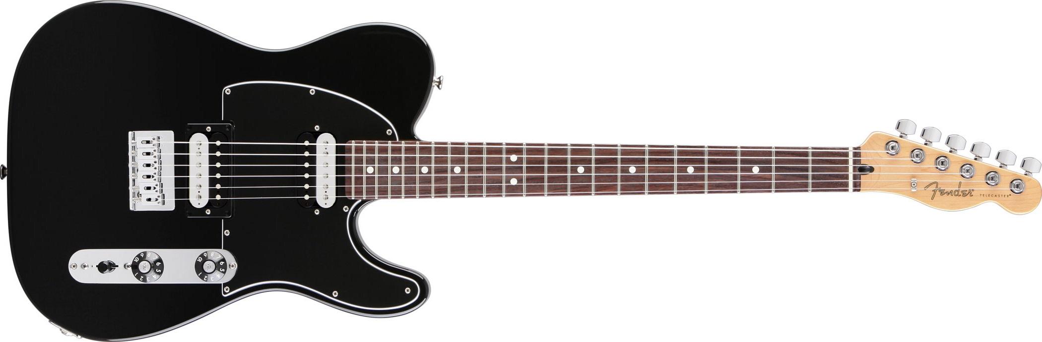 Fender Standard Telecaster HH RW BK