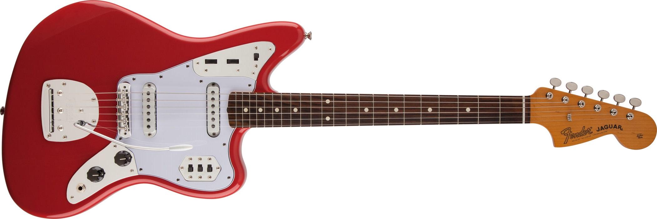 Fender Classic Series 60s Jaguar Lacquer RW FR