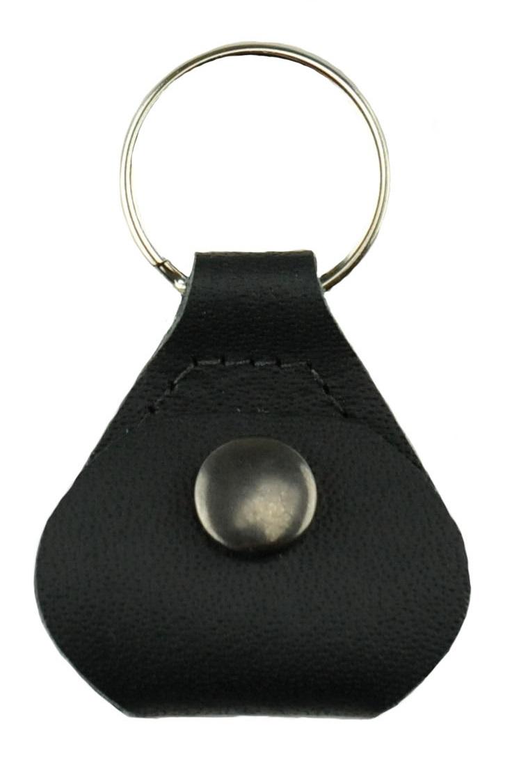 Perri's Leathers Pick Keychain Black