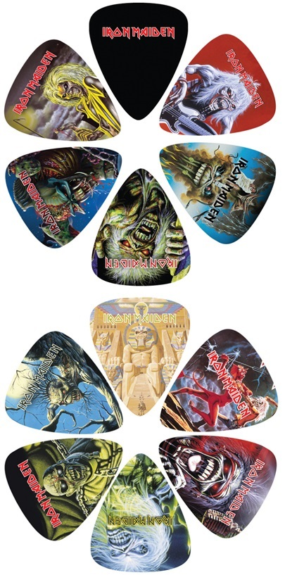 Perri's Leathers Iron Maiden Picks III