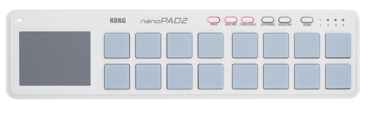 Korg nanoPAD2 WH