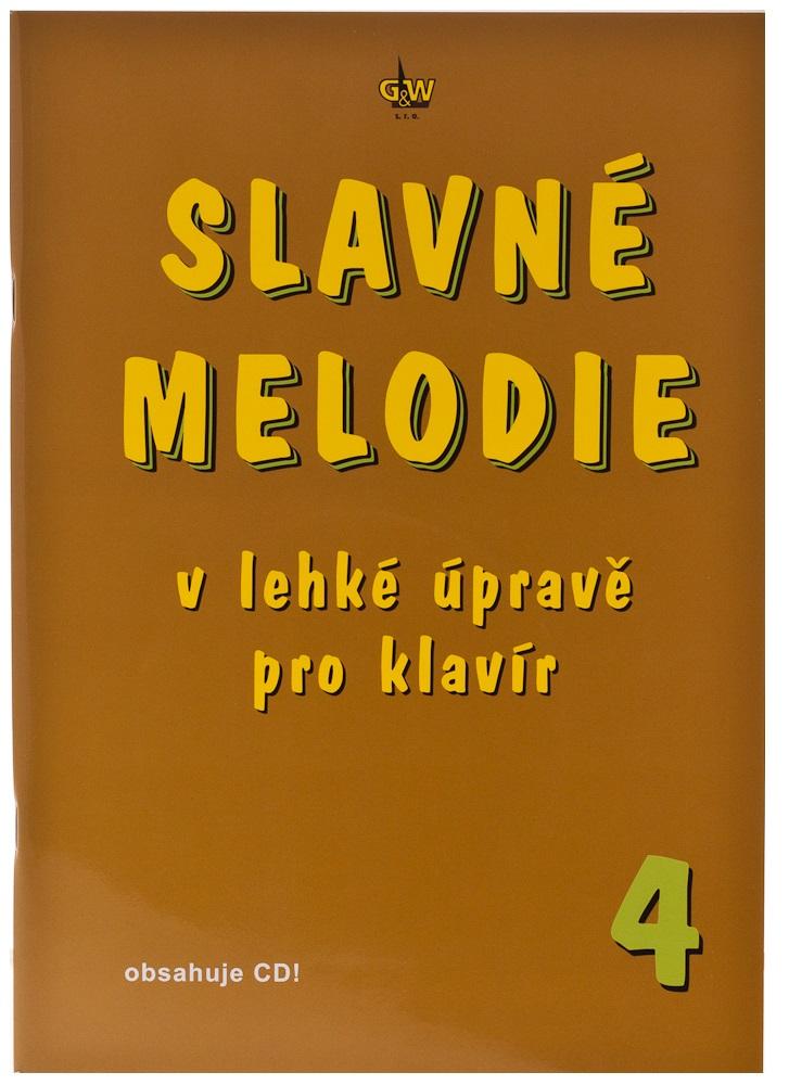 KN Slavné melodie v lehké úpravě pro klavír 4.díl