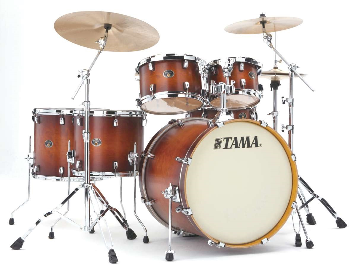 Fotografie Tama Silverstar Fusion II set Antique Brown Burst