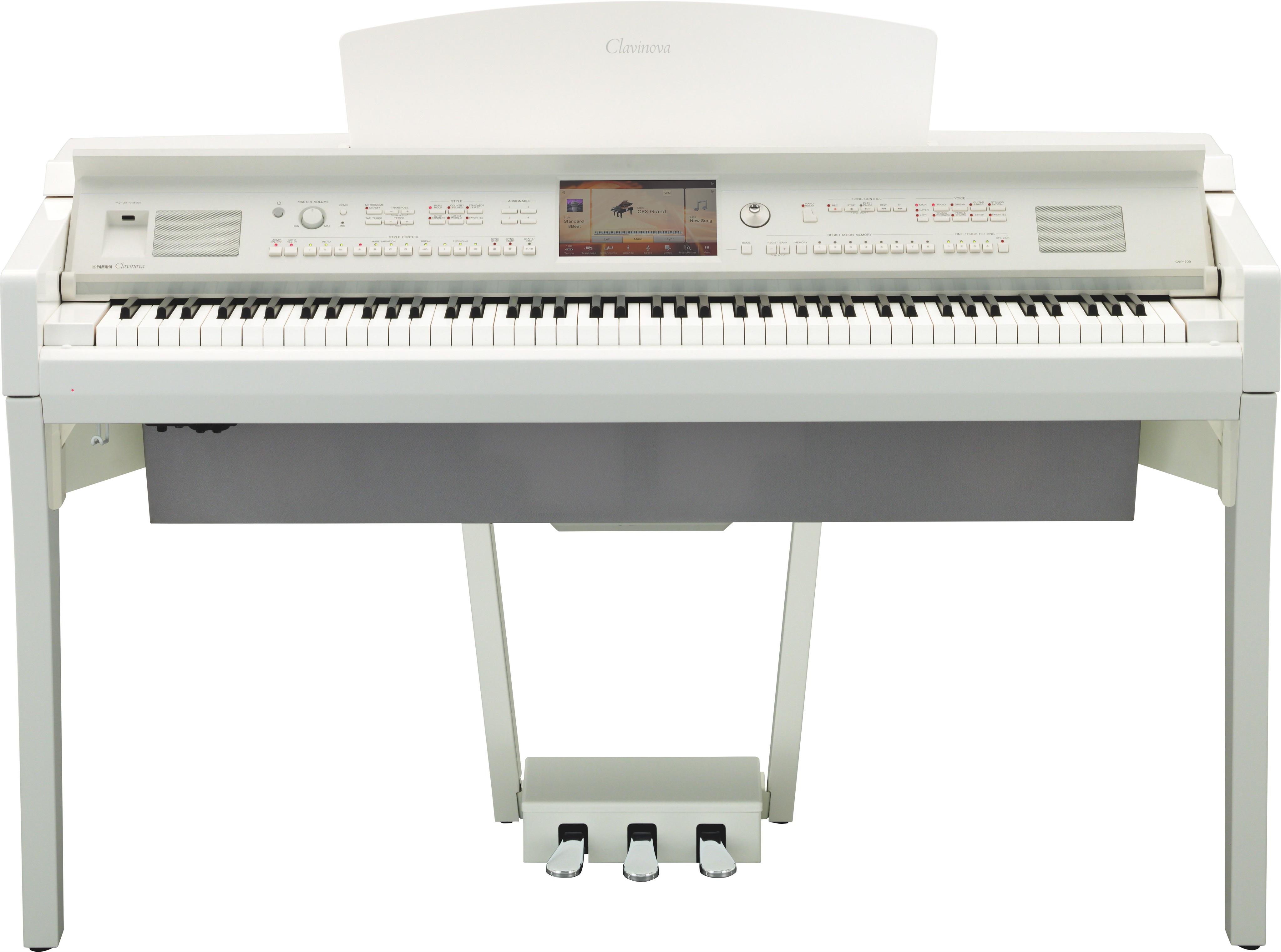 Yamaha CVP-709 PWH