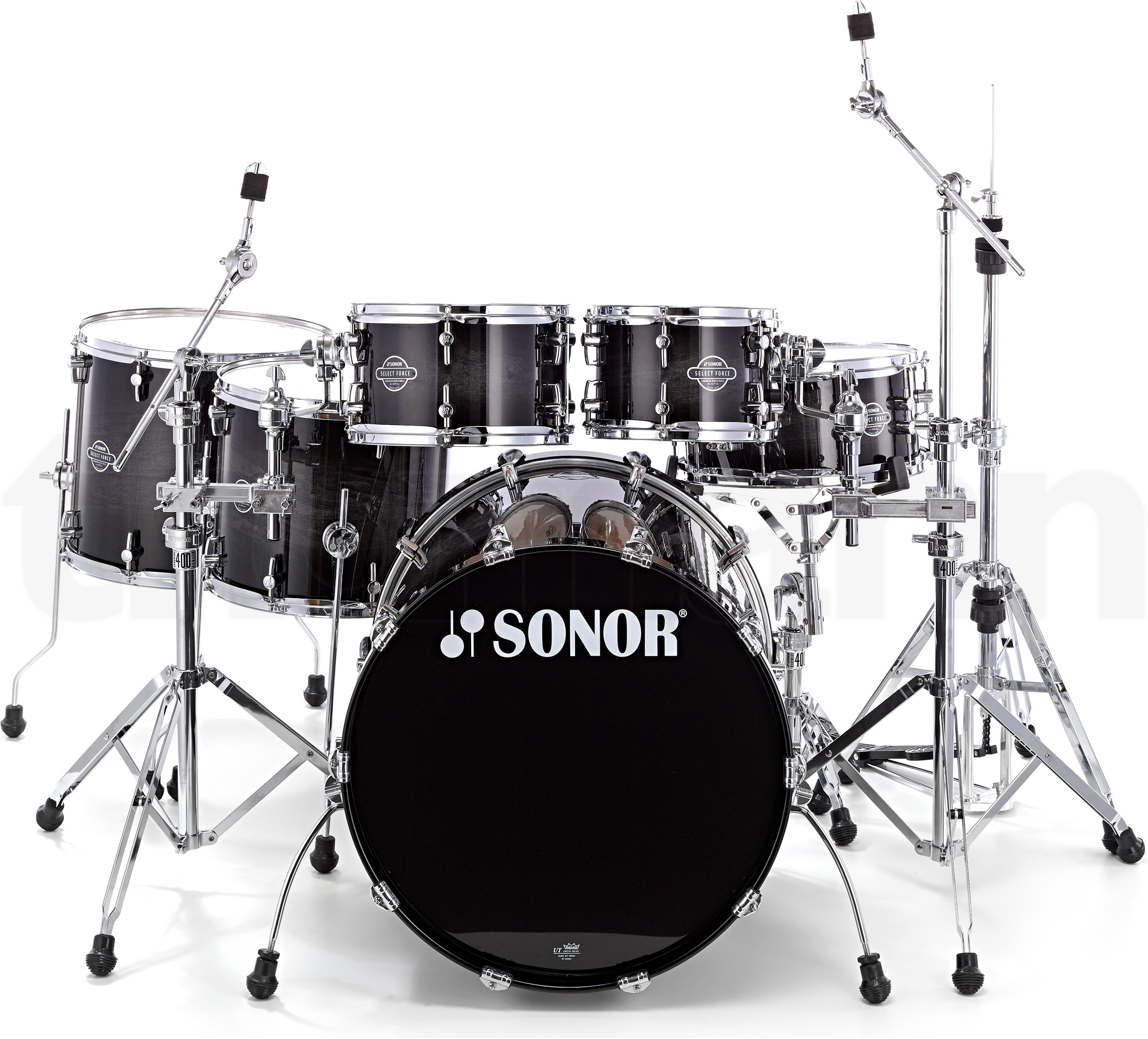 Sonor Select force S DRIVE set Transparent Black Burst