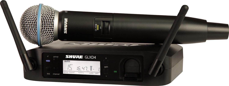 Shure GLXD24E/B58