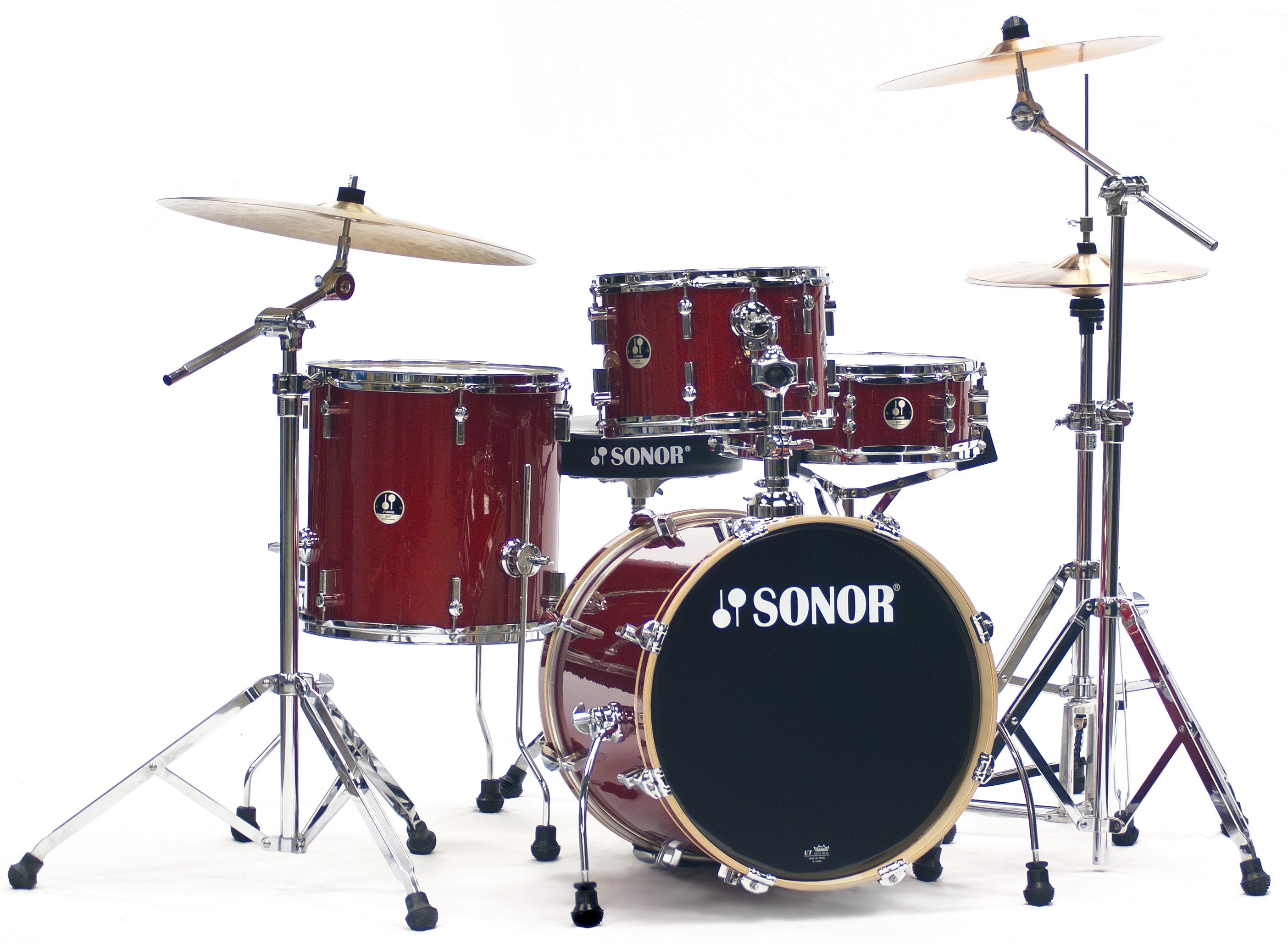 Sonor Bop Special Edition set Red Galaxy Sparkle