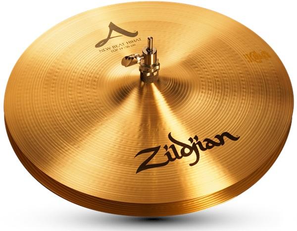"Zildjian 14"" A new beat hi hat"