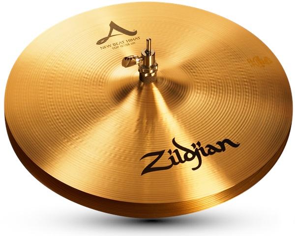 "Zildjian 15"" A new beat hi hat"