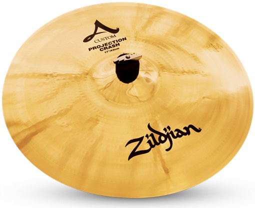 "Zildjian 17"" A Custom projection crash"