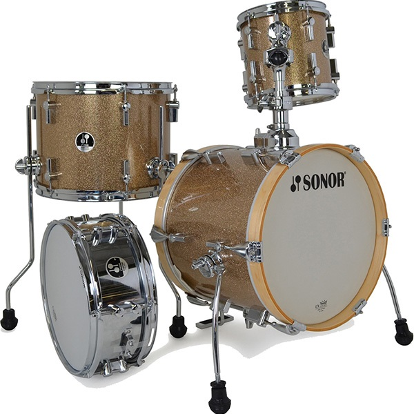 Sonor Martini Special Edition set Gold Glaxy Sparkle
