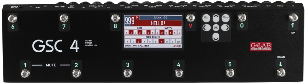 G-Lab Guitar System Controller GSC-4