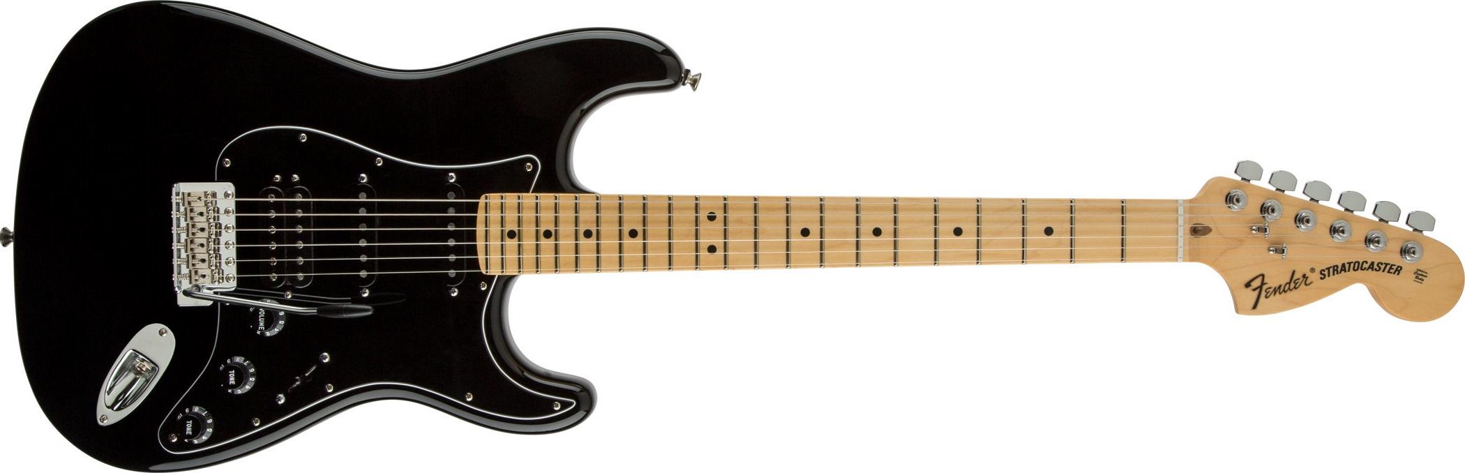 Fender American Special Stratocaster HSS MN BK