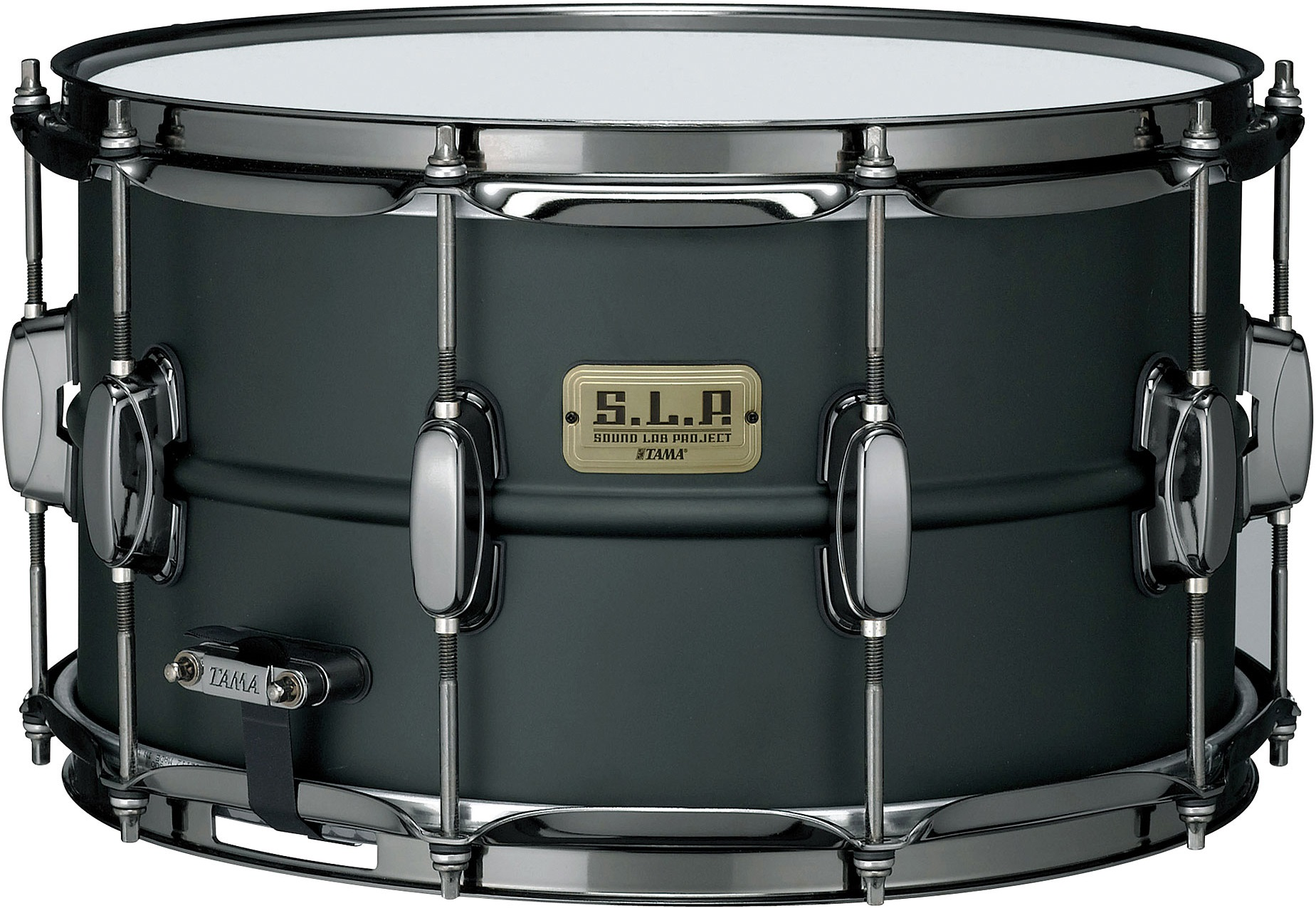 "Fotografie Tama 14"" x 8"" Sound Lab Project Big black steel"
