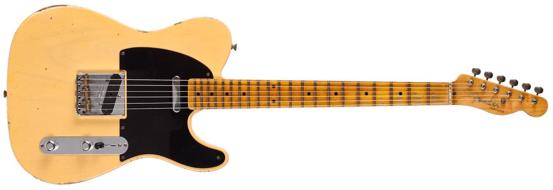 Fender 52 Telecaster Relic NOC BL