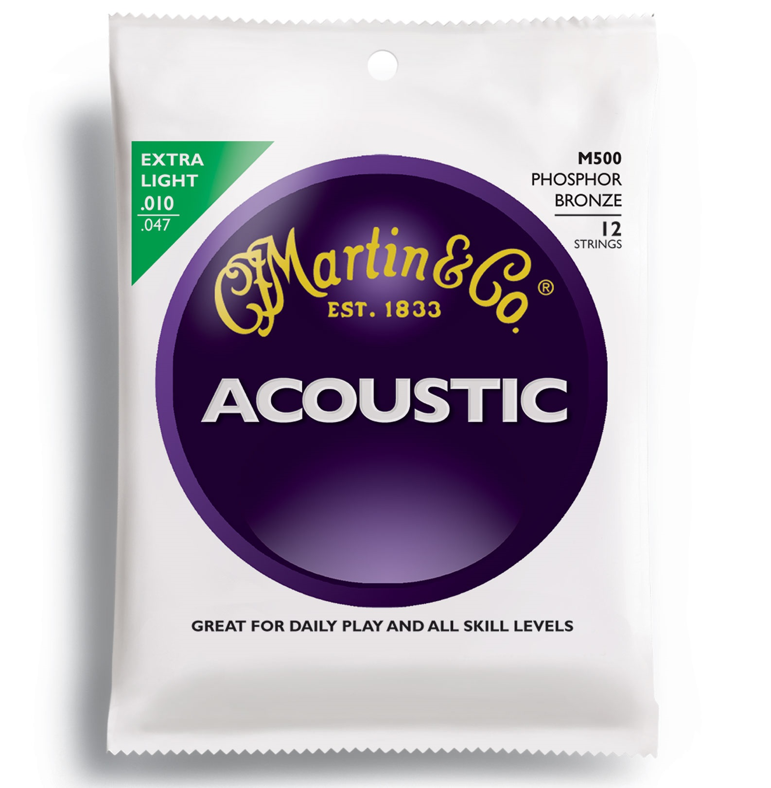 Martin 92/8 Phosphor Bronze Extra Light 12-String