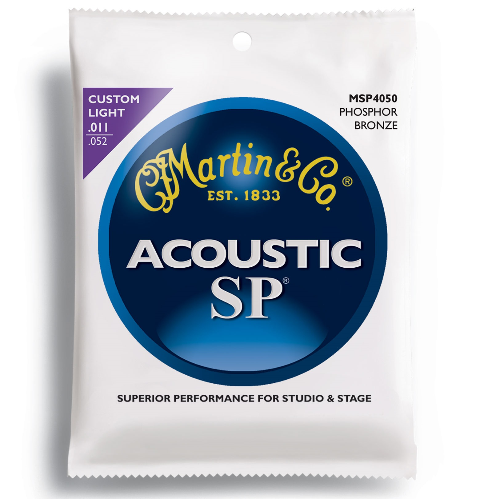 Martin SP 92/8 Phosphor Bronze Custom Light