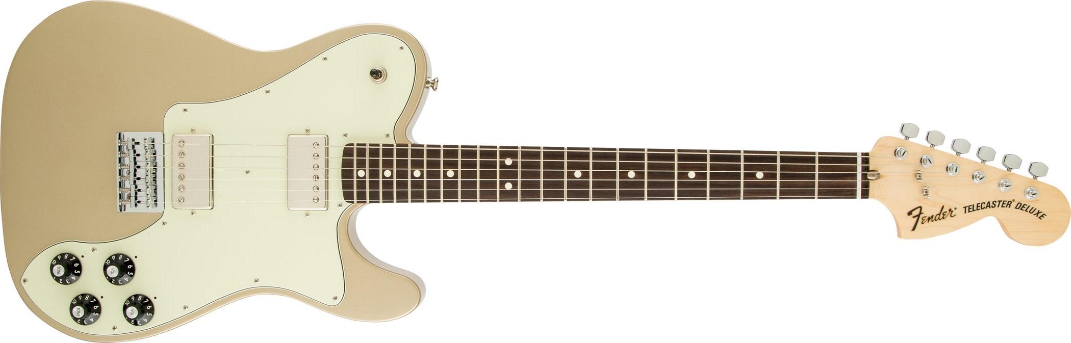 Fender Chris Shiflett Telecaster Deluxe RW SHG