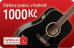 Kytary.cz Dárkový šek 1000 Kč