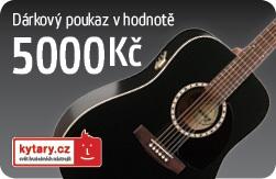 Kytary.cz Dárkový šek 5000 Kč