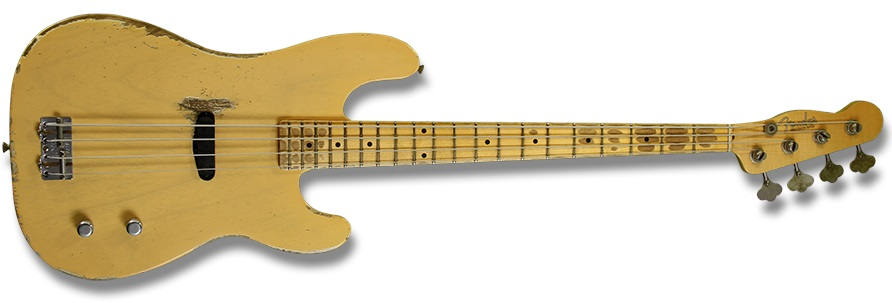 Fender Dusty Hill Precision Bass NB