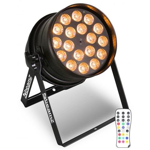 BeamZ LED PAR-64 QCL 18x 12W IR, DMX