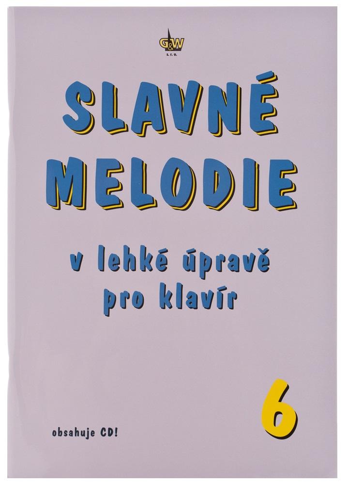 KN Slavné melodie v lehké úpravě pro klavír 6.díl