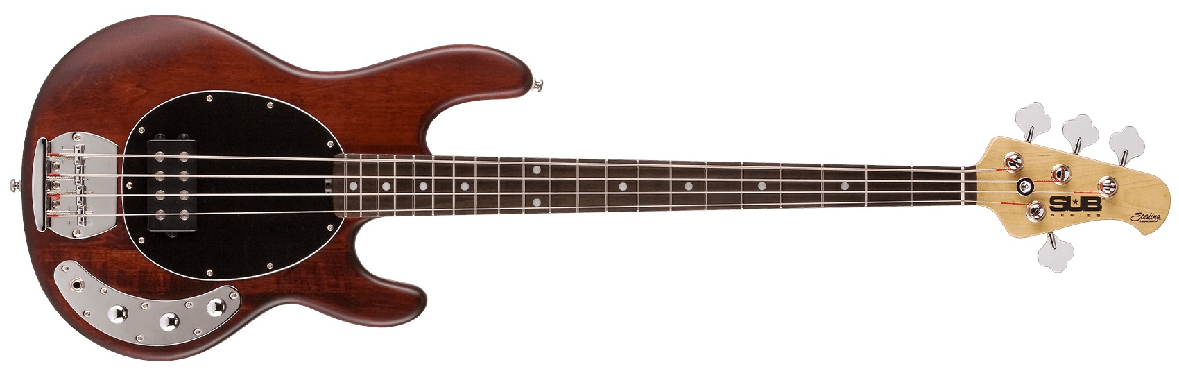 Sterling by Music Man SUB StingRay4 Walnut Satin