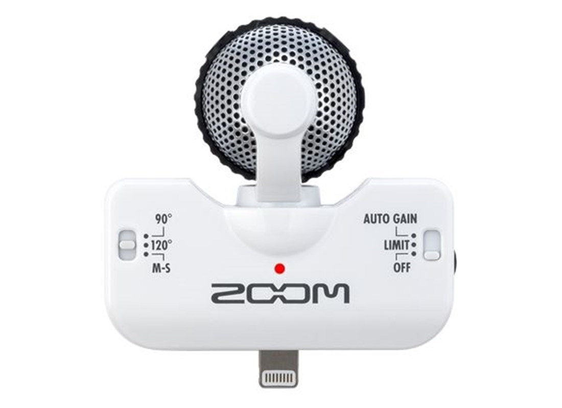 Zoom iQ5 White